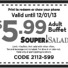 Restaurant Promo Printable Coupons