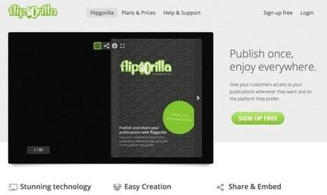 FlipGorilla. Créer un flipbook en ligne   TUICE_primaire_maternelle   Scoop.it
