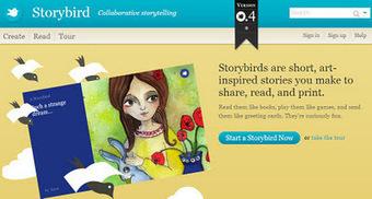AYUDA PARA MAESTROS: Storybird - Crea cuentos interactivos ilustrados   Ideas para OTRA escuela, desde la metodología y el liderazgo.   Scoop.it