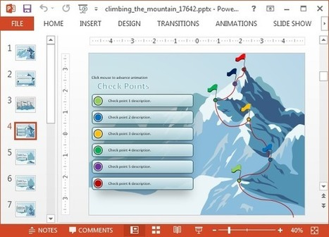 Powerpoint presentations and ppt templates page 3 scoop animated climbing the mountain powerpoint templates toneelgroepblik Images