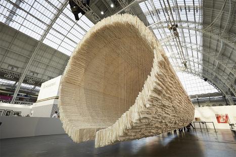 Un bateau suspendu de 8.000 feuilles de papier de riz | TrendsArt | Scoop.it