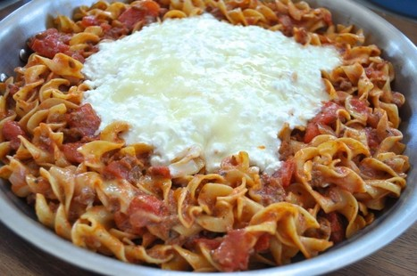 Skillet Lasagna | Amanda's Recipe Box | Scoop.it
