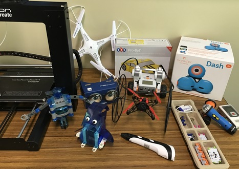 Resourcing a Junior Makerspace - TinkeringChild | iPads, MakerEd and More  in Education | Scoop.it