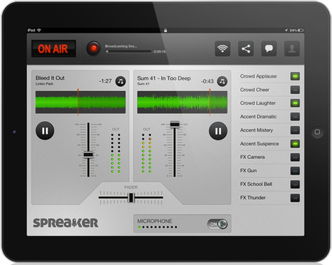 Broadcast students' learning live using Spreaker DJ. | Better teaching, more learning | Scoop.it