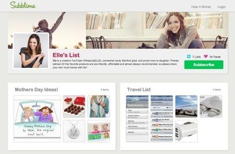 Pinterest + YouTube Stars = Subblime | Everything Pinterest | Scoop.it