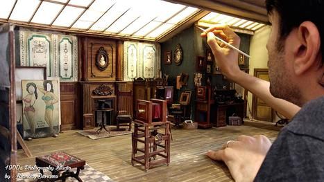 Check Out This Miniature 19th Century Photo Studio | Culture and Fun - Art | Scoop.it