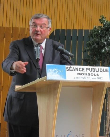 LYon-Politique.fr: Conseil Général du Rhône, la séance du 22 juin délocalisée à Monsols | LYFtv - Lyon | Scoop.it