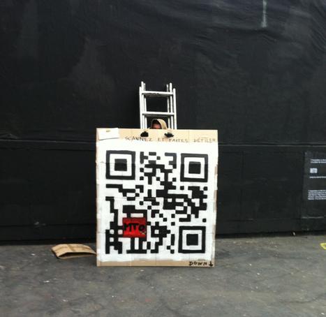 StreetArt : Un QRcode au coeur d'une polémique | QRdressCode | Scoop.it