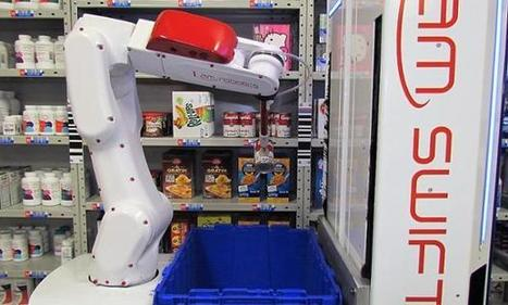 IAM Robotics Takes on Automated Warehouse Picking | The Robot Times | Scoop.it