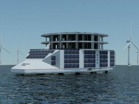 Une plateforme flottante pour unifier toutes les énergies marines | Eolien-Energies-marines | Scoop.it