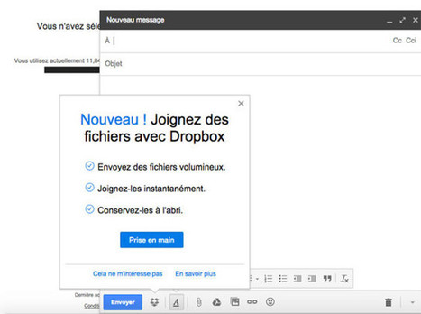 Comment intégrer Dropbox à Gmail ? | Time to Learn | Scoop.it