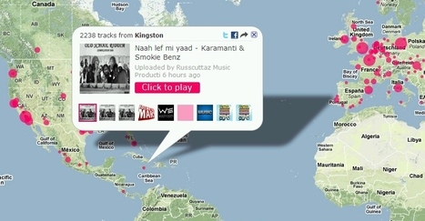 Tracks on a Map | music innovation | Scoop.it
