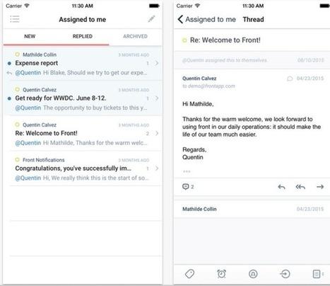 FrontApp. Centralise la réception de tous les messages de votre équipe - Les Outils Collaboratifs | Les outils du Web 2.0 | Scoop.it