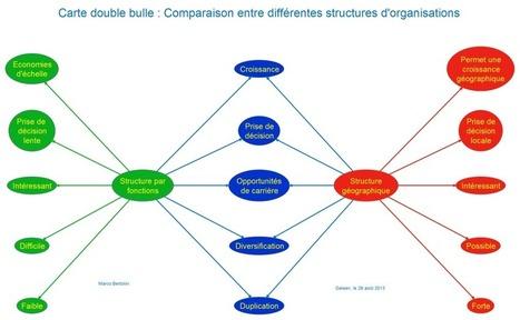 Pensée visuelle : comparez avec les cartes doubles-bulles ! | Cartes mentales | Scoop.it