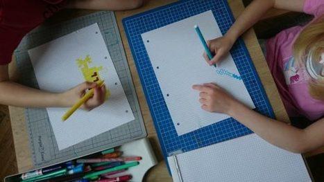 Pixel Art Ou Dessiner Avec Des Carreaux Occup