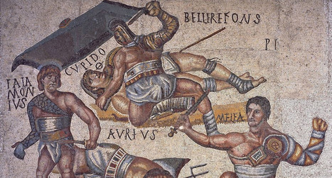 Los dos gladiadores enemistados a muerte que hicieron las paces en la arena y el emperador les otorgó la libertad | Cultura Clásica | Scoop.it