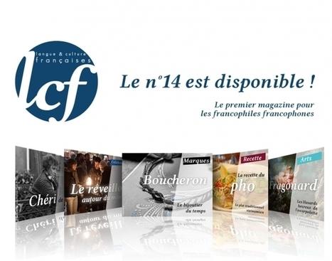 Nouveau numéro LCF N°14 #FLE #Francophile | Conny - Français | Scoop.it