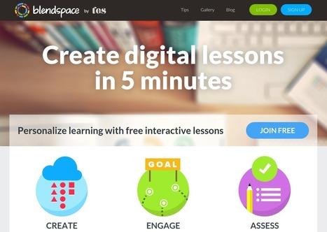 Blendspace, herramienta para la elaboración de lecciones ahora compatible con Google Classroom | Teknologia Hezkuntzan | Scoop.it