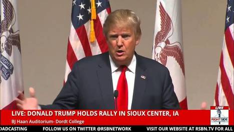 Trump On The War On Christianity - YouTube | Economic & Multicultural Terrorism | Scoop.it