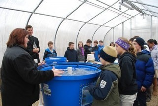 The new harvest: School reaps yields in nature through aquaponics and outdoor education center « Today's Catholic News | Cultivos Hidropónicos | Scoop.it