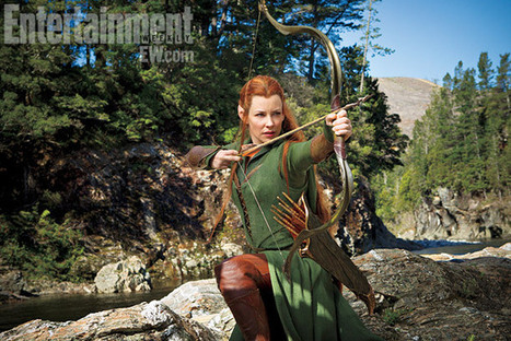 First look: Evangeline Lilly's elf warrior in 'The Hobbit: The Desolation of Smaug' — EXCLUSIVE | EW.com | 'The Hobbit' Film | Scoop.it