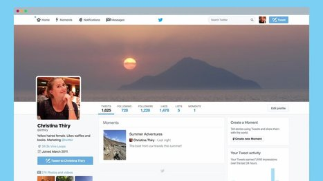 Storytelling: All Twitter Users Can Now Create Moments | E-Learning and Online Teaching | Scoop.it