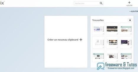 Clipix : un outil en ligne pour sauvegarder tout ce que vous trouvez sur le web   Informatique applis innovations   Scoop.it