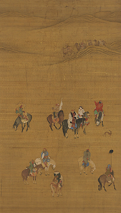 National Palace Museum-Collection > Selections > Painting > Kublai Khan Hunting | Walkerteach History | Scoop.it