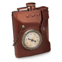 Home & Office : Capt. Jules' Everlasting Steampunk Flask | VIM | Scoop.it