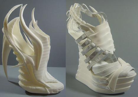 Outrageous 3D Printed Shoes | {S}PATIAL .BRAIN | Scoop.it