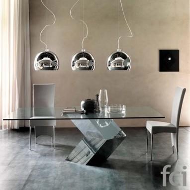 Hyatt Dining Table By Cattelan Italia About U - Stylish-dining-rooms-from-cattelan-italia