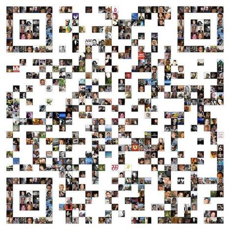 QR code mosaïque avec les photos de sa FanPage Facebook : Joli travail !   QRdressCode   Scoop.it