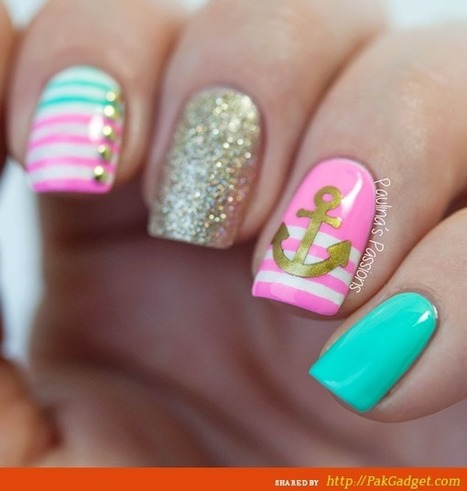 Beautiful Funky Trendy Spring Nail Ideas 2015