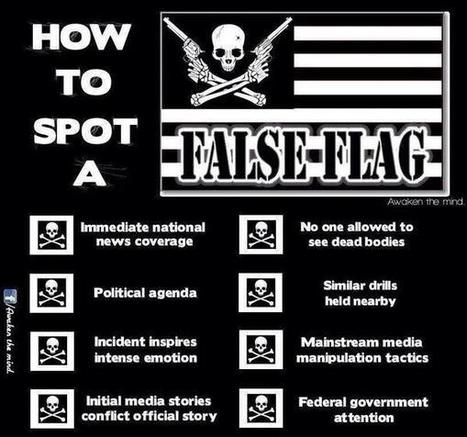 Twitter / OpNWO: Tips: How To Spot a #FalseFlag ... | anonymous activist | Scoop.it