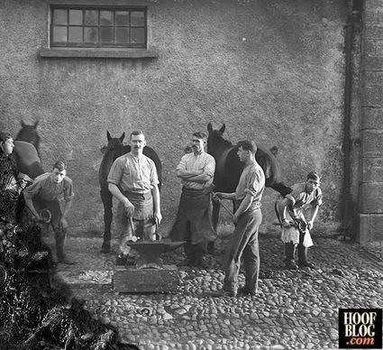 Fran Jurga`s Hoof Blog: News from Hoofcare + Lameness: History Detectives: What Do You Notice About These Irish Farriers? | Hoofcare and Lameness | Scoop.it