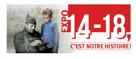 """Résultat de recherche d'images pour """"14 18 c'est notre histoire"""""""