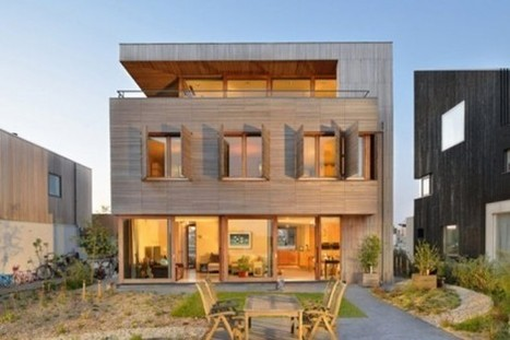 Modern Wooden Residence Filled With Modern Technologies On The Lake Shore | Extreme Architecture | News, E-learning, Architecture of the future at news.arcilook.com | Architecture news | Scoop.it