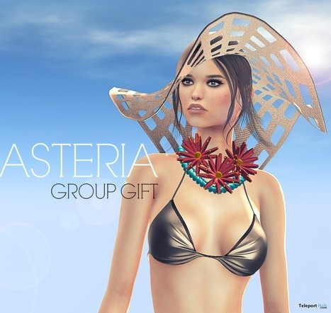 SL 13th Birthday Hat 3 Colors Group Gift by Asteria | Teleport Hub - Second Life Freebies | Second Life Freebies | Scoop.it