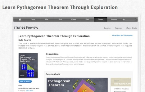 FREE Pythagorean Theorem Interactive iBook Now Available! | Math 8 Specific Supplements | Scoop.it