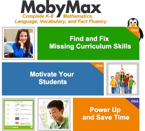 MobyMax: Complete K-8 Curriculum   French for Children   Scoop.it