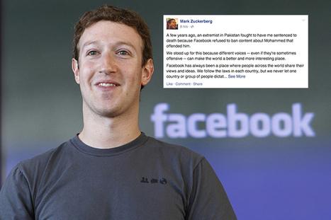 Charlie Hebdo, il post di Zuckerberg scatena la polemica sul social network - Tech Fanpage   SEM & SEO   Scoop.it