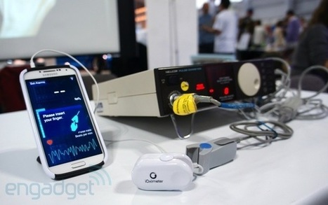 iOximeter monitors your heart-rate, is powered by your phone's headphone socket   Medical Applications   Scoop.it