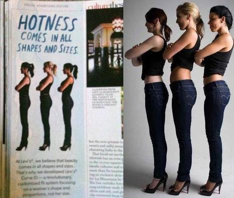 Hey Levi's, Real Women Have Curves! | mexicanismos | Scoop.it