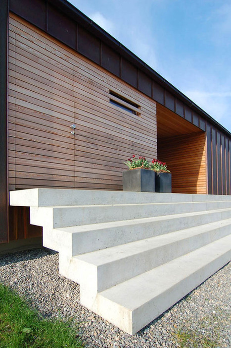 A Modern Farmhouse In Rural Germany | German Information for German1 and 2 | Scoop.it
