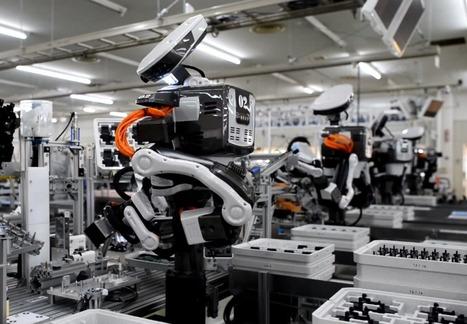 Pour remplacer les ouvriers par des robots, l'UE investit 8 millions | WE DEMAIN. Une revue, un site, une communauté pour changer d'époque | Scoop.it