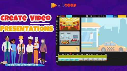 Como hacer videos animados con Vidtoon – Reseña