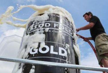 Sur le tour de France : Le plus grand verre de bière au monde - Magazine du vin - Mon Vigneron | Actualités du Vin | Scoop.it