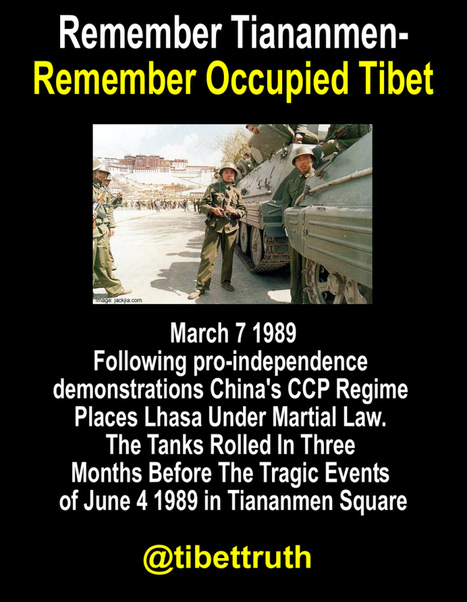 Remember Tiananmen-Remember Occupied Tibet | Human Rights and the Will to be free | Scoop.it