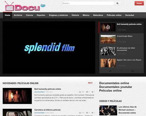 7 sitios para ver cientos de vídeos documentales en español y gratis | Recursos  Enseñanza Secundaria Abiertos en la red | Scoop.it