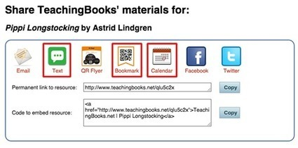Announcing - New Collaboration Tools   Your TeachingBooks.net Update   Information Powerhouses   Scoop.it